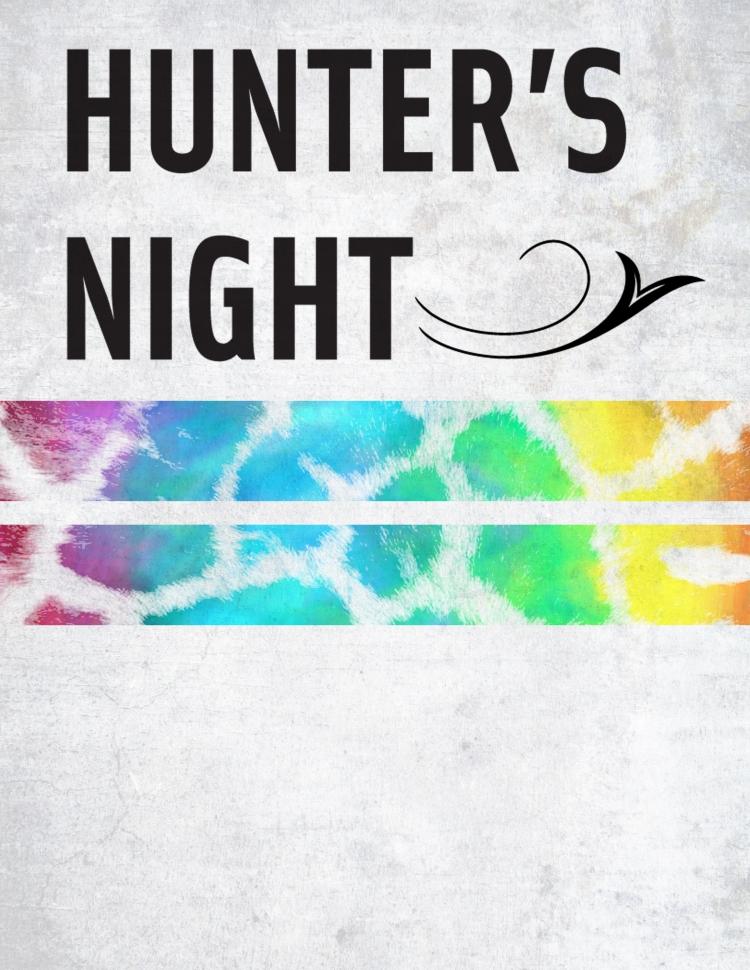 Hunter's Night Blank Poster 1