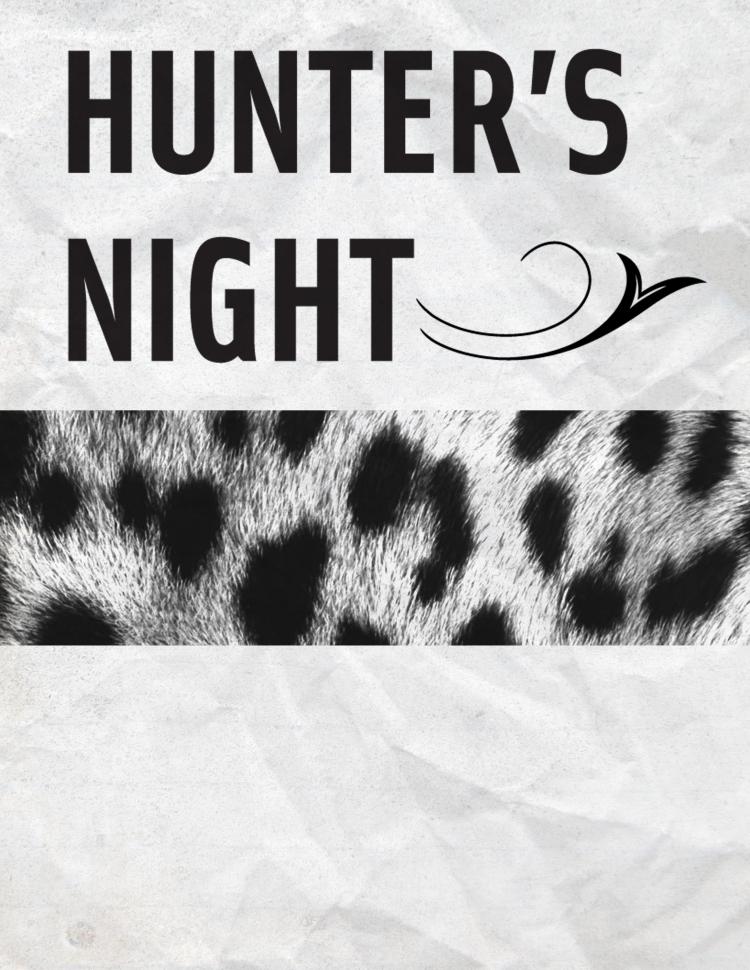 Hunter's Night Blank Poster 2
